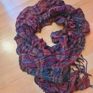 Maurices plaid scarf